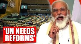 PM Modi seeks reforms at UN 75 meet: 'Can't fight today's challenges with old structures'