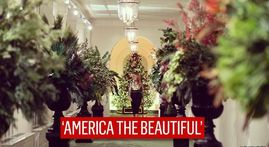 IN PICS | Melania Trump unveils White House Christmas decor celebrating American spirit