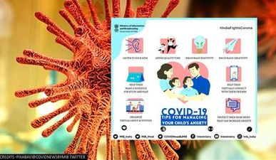 COVID-19: Government releases tips for managing children's anxiety amid pandemic