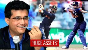 Sourav Ganguly gives special mention to Pandya & Jadeja for solid middle-order approach