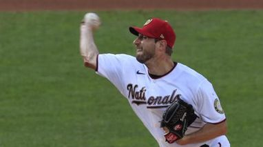 Healthy Scherzer pitches Nats past Mets 2-1 for 1st win