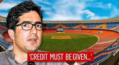 Shah Faesal says 'credit a must where credit is due' amid row over Narendra Modi Stadium