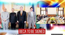 Landmark defence pact BECA to be signed between India, US during 2+2 talks on October 27