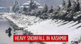 In Pics: Kashmir Valley gets fresh snowfall, flights still cancelled, main highways closed
