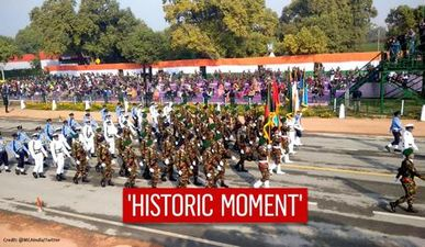 Bangladesh participates in Republic Day parade for the first time in 50 years; see pics
