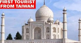 Taj Mahal reopens after 188 days of closure, Taiwan tourist becomes first visitor