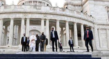 IN PICS | Project Mapping Show at Victoria Memorial on Netaji's 125th birth anniversary