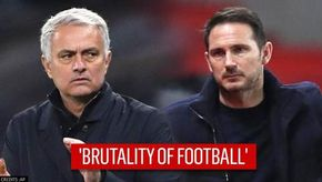 Jose Mourinho terms Frank Lampard's sacking by Chelsea as 'brutality of football'