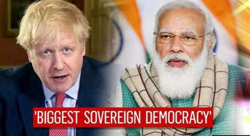 UK PM Boris Johnson greets India on R-Day, says working together to eliminate COVID