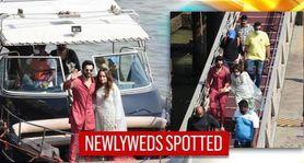 Varun Dhawan, Natasha Dalal return to Mumbai after intimate wedding in Alibaug