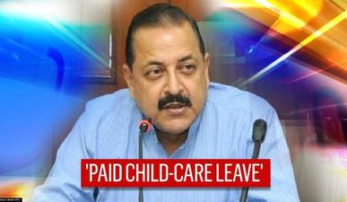 'Govt employees who are single-male parents entitled to child care leave': Centre