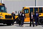 Democrats push for $25bn bill to electrify school buses under Biden's infrastructure plan