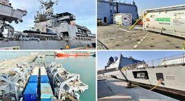 In Pics | INS Kolkata arrives at Port Shuwaikh at Kuwait to bring liquid medical oxygen