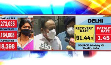 Health Minister Harsh Vardhan visits RML hospital in Delhi, says 200 beds installed