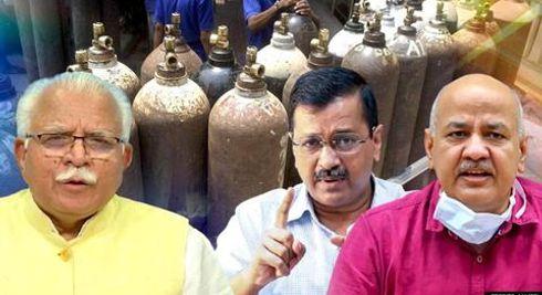 Haryana Govt hits back at Delhi, calls allegations of blocking Oxygen supply 'baseless'