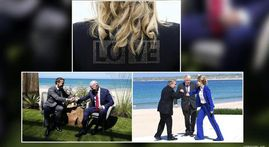 IN PICS   G7 leaders captured in candid moments as they vow to fight COVID, climate change