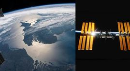 From orbital sunrise to glinting waterways, ISS shares stunning pictures of Earth