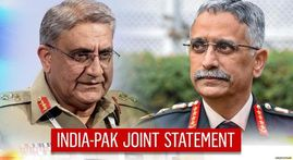 India & Pakistan issue joint statement as DGMOs speak; situation along LoC reviewed