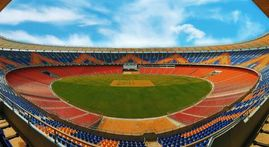 IN PICS | World's largest, Motera Cricket stadium all set for India vs England Test