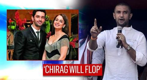 In Bihar, JDU taunts Chirag Paswan on Bollywood 'flop show'; compares with co-star Kangana