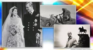 'Courage, fortitude and faith': Royal Family releases rare pictures of Prince Philip