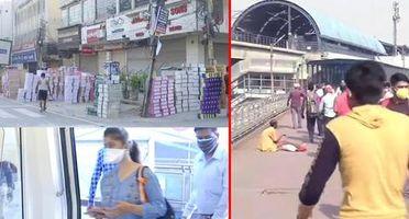 Delhi Unlock: As migrant workers return, metro & markets resume services; see pics