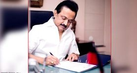 MK Stalin takes oath as Tamil Nadu CM after 10-yr wait; 33 other cabinet members sworn in