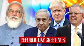 Republic Day 2021: World leaders extend greetings and pray for 'India's lasting peace'