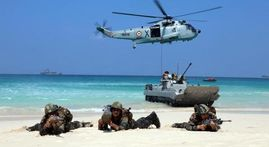 In Pictures : Tri-Services Exercise AMPHEX-21 conducted at Andaman & Nicobar Islands