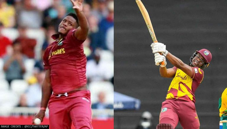 Evin Lewis & Oshane Thomas Signed By Rajasthan Royals Image: ICC/Twitter/AP