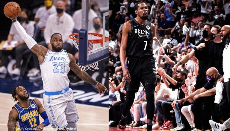 Lebron James Approves Of Kevin Durant S Performance Vs Bucks As Nets Lead 2 0