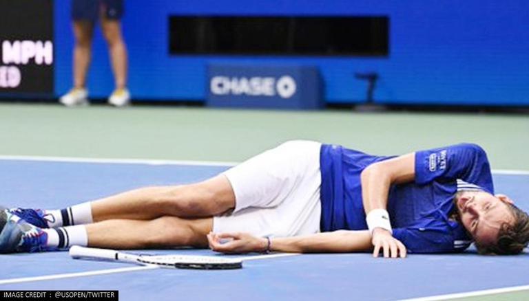 Daniil Medvedev Performs 'Dead Fish' Celebration Post US Open 2021  Championship Win: Watch