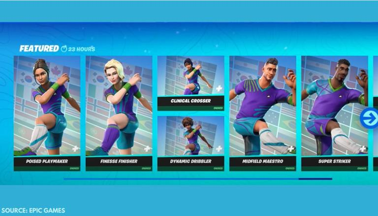 Whats Good To Buy In The Fortnite Store Fortnite Soccer Skins Arrive In The Item Shop How Much Do They Cost