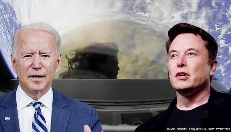 Still Sleeping': Elon Musk Mocks Biden For Not Acknowledging SpaceX's All-civilian Crew