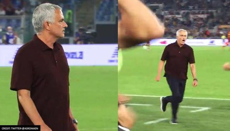 Jose Mourinho Takes 'unexpected' 50m Sprint With AS Roma Squad As He Celebrates 1000th Win