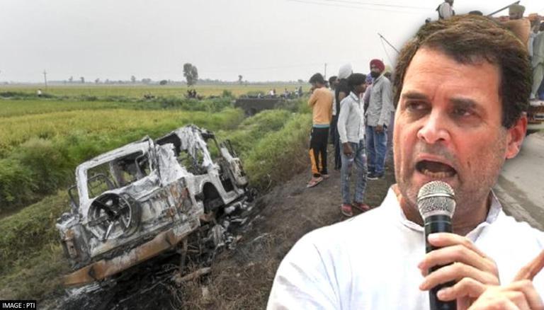 Rahul Gandhi-led Congress delegation seeks to visit Lakhimpur; UP govt  turns down request