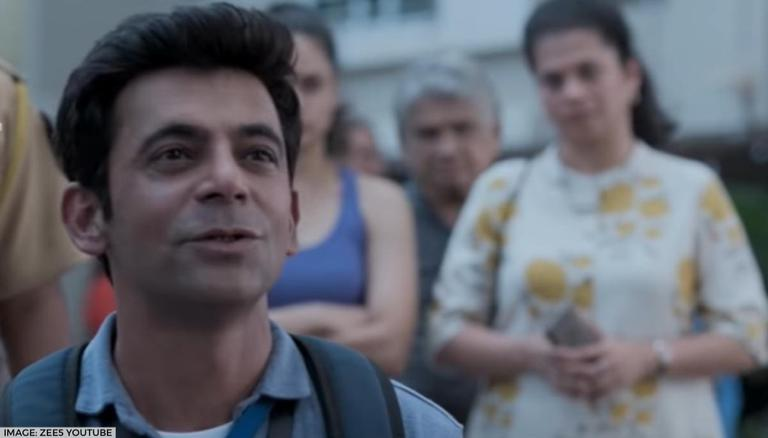 Sunil Grover unveils a new poster from 'Sunflower' feat. Sonu and Aanchal; see inside