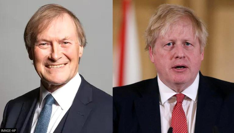 WATCH: Britain's PM Boris Johnson pays tribute to Sir David Amess following shocking fatal stabbing of conservative MP