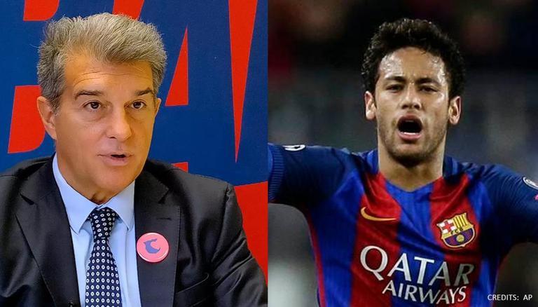 La Liga: FC Barcelona president Joan Laporta says Neymar was 'crazy' about return this summer