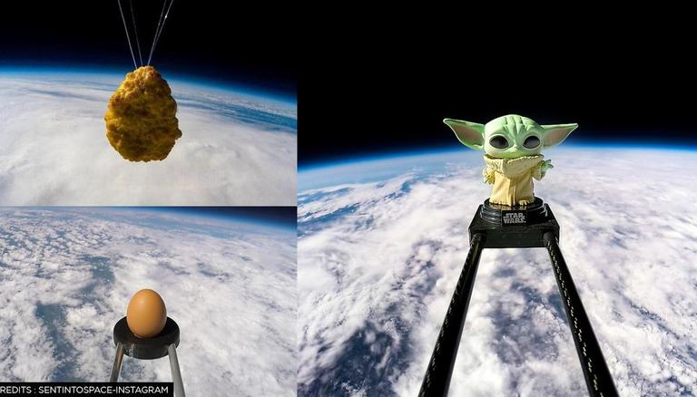 UK company uses weather balloons to launch potatoes and chicken nuggets into space;  here's how