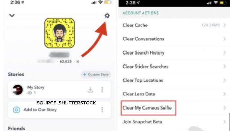 Snapchat Cameo How To Delete Snapchat Cameo A Step By Step Guide