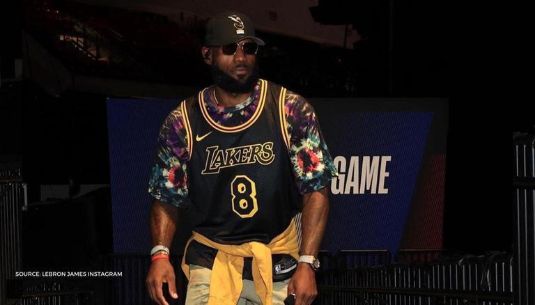 LeBron James Dons Idol Kobe Bryant's Iconic Jersey Ahead Of ...