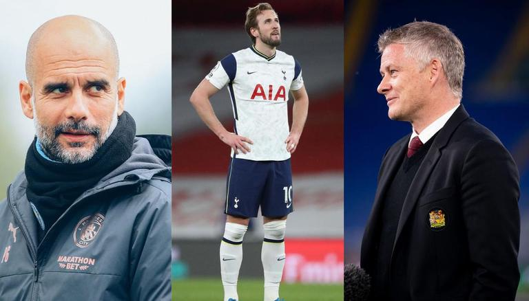 Harry Kane Transfer News Man City Man United And Chelsea Front Runners For Spurs Ace