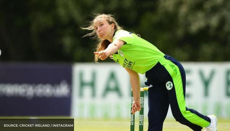 Leah Paul becomes famous with rare triple-wicket maiden vs Scotland Women:  WATCH