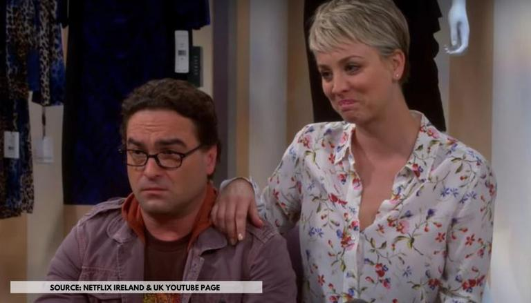 Penny and leonard divorce