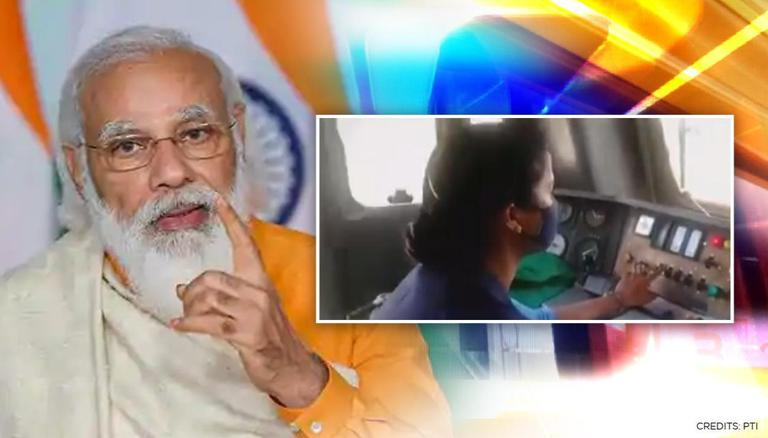 PM Modi hails efforts of woman loco pilot of Oxygen Express fighting  COVID-19 crisis