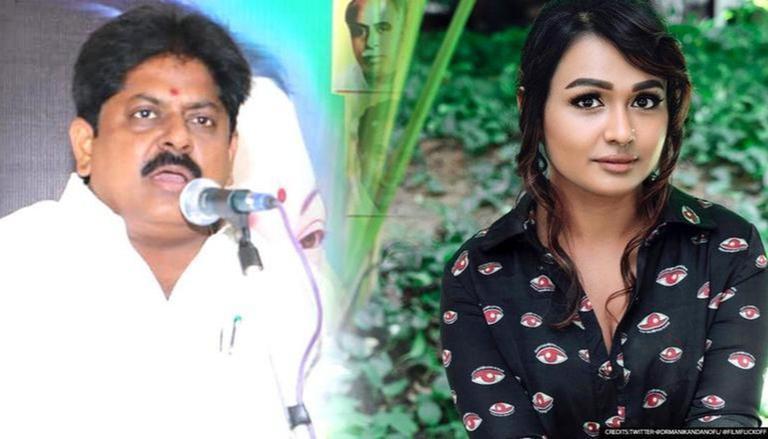 Ex-Min & AIADMK neta M Manikandan booked for rape after actor Shantini  Theva's complaint