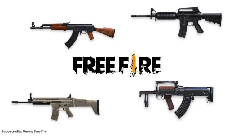 Best Assault Rifles In Free Fire Top 5 Guns In The Battle Royale Ranked