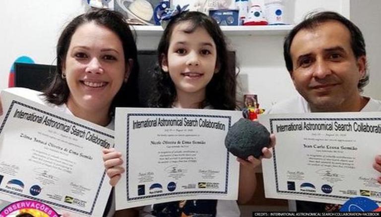 Astronom termuda di dunia ternyata berusia 7 tahun! Seorang gadis asal Brasil dinobatkan sebagai yang termuda di dunia.