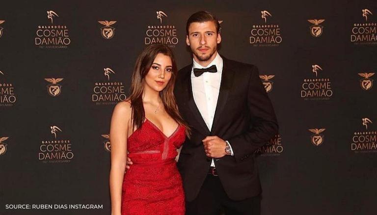 Rúben Dias with sexy, Girlfriend April Ivy